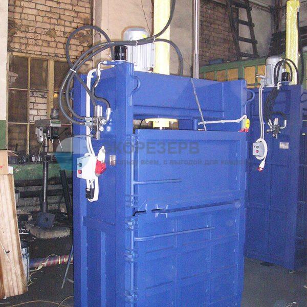 Пресс ПГП-15 распашной для переработки вторсырья