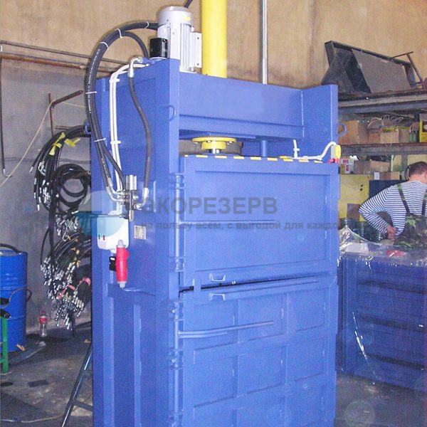 Пресс ПГП-20 распашной для переработки вторсырья