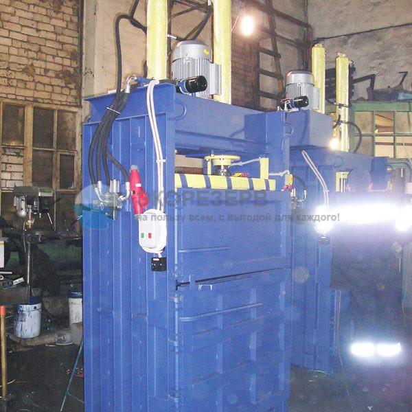Пресс ПГП-24 распашной для переработки вторсырья