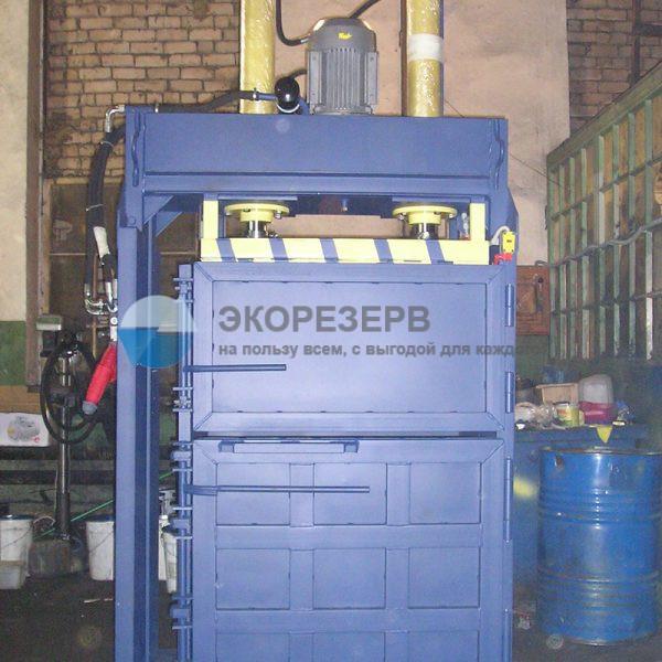 Пресс ПГП-30 распашной для переработки макулатуры, вторсырья