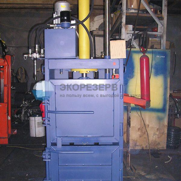 ПГП-4-5 мини для прессования вторсырья