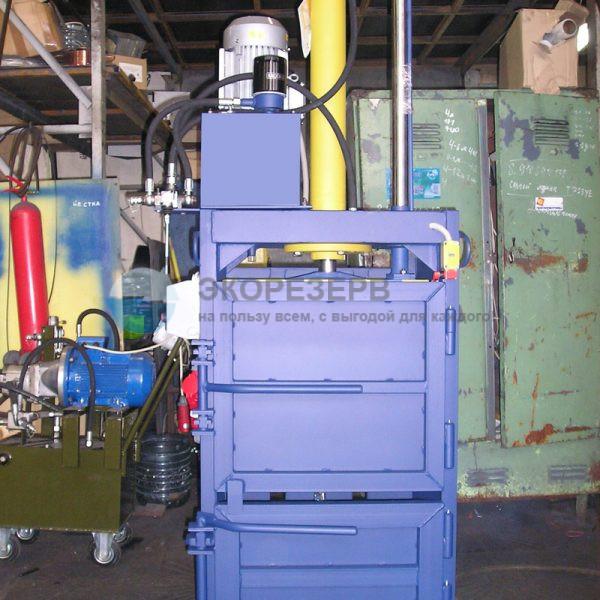 ПГП-4-8 мини для прессования макулатуры, полиэтилена